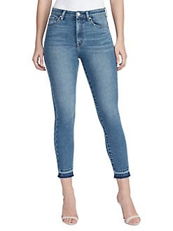 2398d8be6de QUICK VIEW. William Rast. Super High-Waist Skinny Ankle Jeans