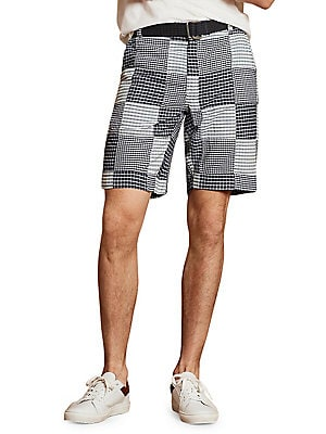 4a58c9db46 Brooks Brothers Red Fleece - Patchwork Shorts