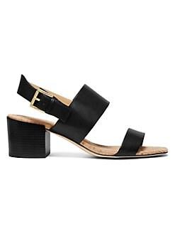 39fb8e897ed QUICK VIEW. MICHAEL Michael Kors. Angeline Leather Block Heel Sandals