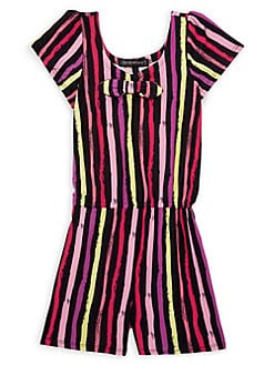 0c459e016f7c QUICK VIEW. Derek Heart. Girl's Striped Romper