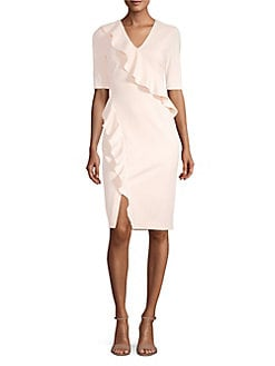 fb82b1710bd4 QUICK VIEW. Calvin Klein. Ruffle Sheath Dress