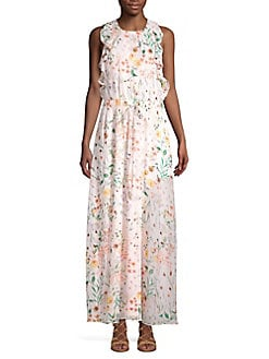 38e240e3c45699 QUICK VIEW. Calvin Klein. Floral Maxi Dress