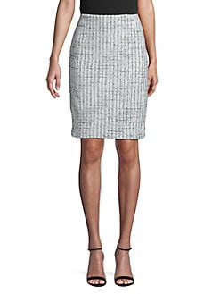92a7c65d98573 QUICK VIEW. Karl Lagerfeld Paris. Tweed Pencil Skirt