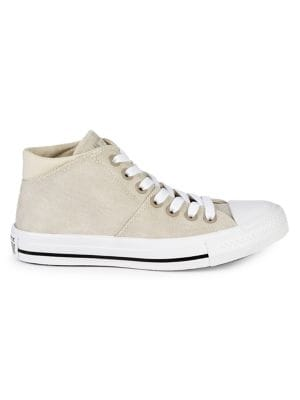 Image of Women's Madison Mid-Top Canvas Sneakers