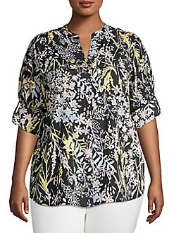 843d802f8eb Plus Size Womens Shirts   Tops