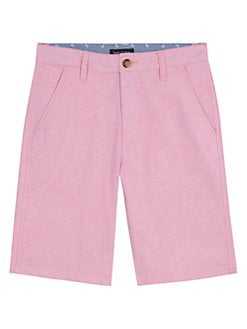 2922d36fa1bb6 QUICK VIEW. Nautica. Boy's Oxford Flat Front Shorts