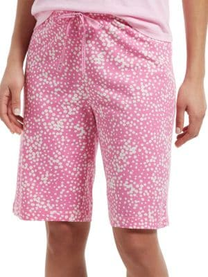 Image of Stipple Dot Sleep Bermuda Sleep Shorts