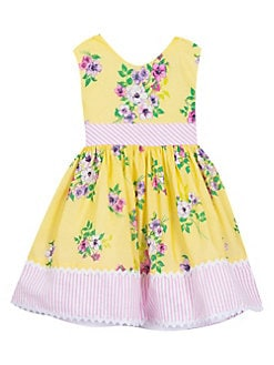 1ff89ed430995 Girl's Floral Dress YELLOW MULTI. QUICK VIEW. Product image. QUICK VIEW. Rare  Editions