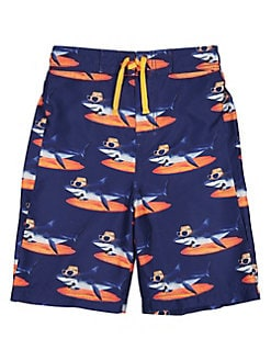 d50c356fee Boy's Shark-Print Swim Trunks NAVY. QUICK VIEW. Product image. QUICK VIEW.  Tommy Bahama
