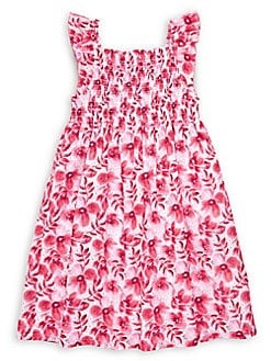 c2c572ac5a85 Product image. QUICK VIEW. Penelope Mack. Girl's Floral Smocked Dress