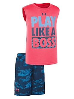 76c4c1653014 QUICK VIEW. Under Armour. Little Boy s Play Like A Boss Top   Shorts Set