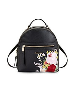 QUICK VIEW. Calvin Klein. Mercy Floral Leather Backpack