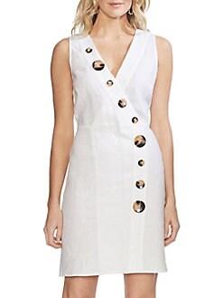 76c3341202a9 QUICK VIEW. Vince Camuto. Oasis Bloom Faux-Wrap Sheath Dress