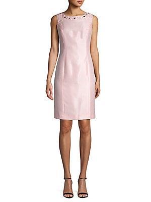 32ff4611d39 Kasper - Jewelneck Sheath Dress