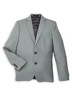 afb7a00b73f575 QUICK VIEW. Lauren Ralph Lauren. Boy's Windowpane Button Jacket