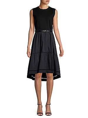 Adrianne Ruched Drape Sheath Dress by Elie Tahari