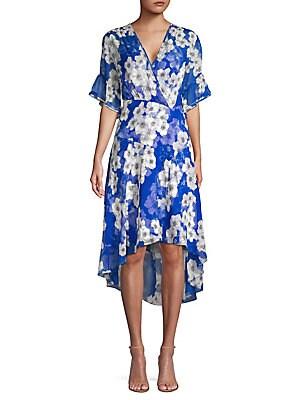 33ca1632a8f0 Elie Tahari - Ava Floral Chiffon Dress - lordandtaylor.com