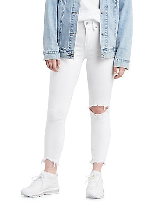 f486ef054e15 Levi s - Distressed High-Rise Skinny Jeans
