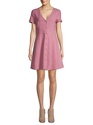 Lisa Striped Shirt Dress by Vero Moda