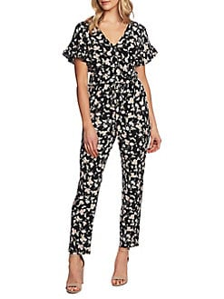 6a6adeb04d0 Bouquet Duchess Floral Jumpsuit RICH BLACK. QUICK VIEW. Product image