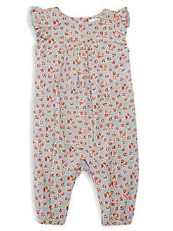 c905dbd90 QUICK VIEW. Ralph Lauren Childrenswear. Baby Girl's Floral Coverall
