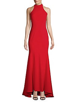 dd75ad1e50 Product image. QUICK VIEW. Calvin Klein. Halter Mermaid Gown