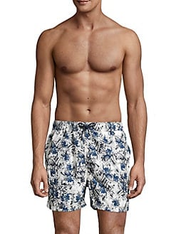 b059280815 Product image. QUICK VIEW. Selected Homme. Floral Printed Swim Trunks