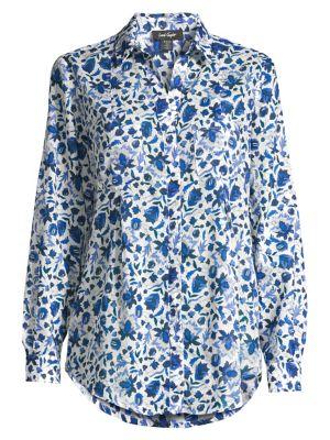 Image of Nancy Floral Shirt