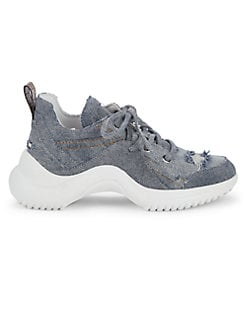 07772389ff0 QUICK VIEW. Sam Edelman. Mena Distressed Denim Dad Sneakers