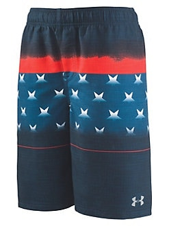 63f3e8f715 QUICK VIEW. Under Armour. Boy's Americana Stripe Volley Board Shorts