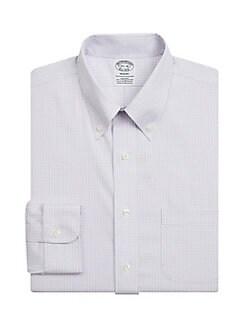 3c61628df5933 QUICK VIEW. Brooks Brothers. Classic Plaid Dress Shirt
