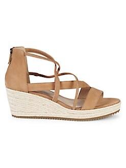 1eab75358cf QUICK VIEW. Eileen Fisher. Wanda Leather Wedge Sandals