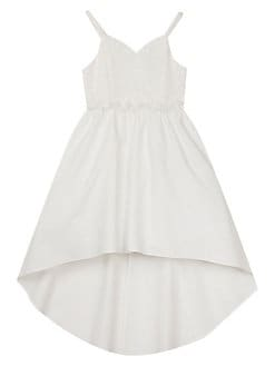 5db101a4ba05 Girl's Sequin Lace Crepe Dress WHITE. QUICK VIEW. Product image. QUICK  VIEW. Rare Editions