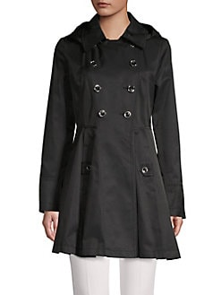 a12b92d26880d QUICK VIEW. Via Spiga. Double Breasted Raincoat