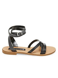 511004646591db QUICK VIEW. Steve Madden. Matas Strappy Leather Sandals