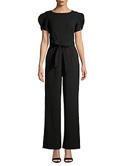007d0d16e13 Split Sleeve Jumpsuit BLACK. QUICK VIEW. Product image