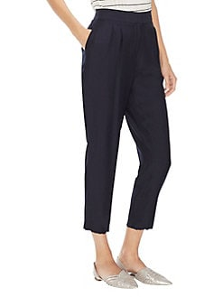 876d89fca9498 Mystic Blooms Ankle-Length Pants CLASSIC NAVY. QUICK VIEW. Product image.  QUICK VIEW. Vince Camuto