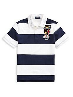 6fd525bbd QUICK VIEW. Ralph Lauren Childrenswear. Little Boy s   Boy s Striped Cotton  T-Shirt