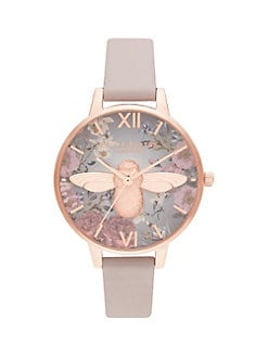 a66c11c7e ... Leather Strap Watch GREY. QUICK VIEW. Product image. QUICK VIEW. Olivia  Burton
