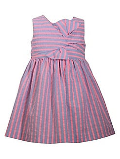 b59648b09 Product image. QUICK VIEW. Iris & Ivy. Baby Girl's Striped Bow Dress