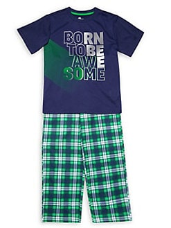 e2a458ce2d Product image. QUICK VIEW. SLEEP ON IT. Boy s 2-Piece Graphic Pajama Set