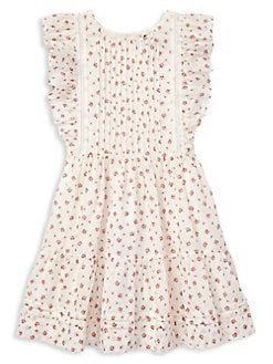 177bef3e93a QUICK VIEW. Ralph Lauren Childrenswear. Little Girl s   Girl s Floral  Cotton Fit   Flare Dress