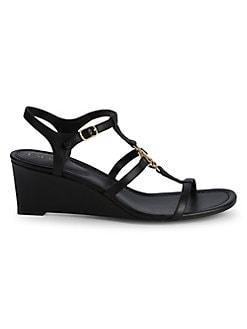 d2796e24e Elina Cutout Wedge Heeled Sandals BLACK. QUICK VIEW. Product image