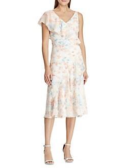 4d8459009d8 QUICK VIEW. Lauren Ralph Lauren. Floral Georgette Dress