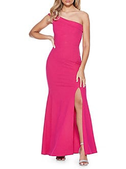 511c1b6d2c One-Shoulder Maxi Dress PINK. QUICK VIEW. Product image