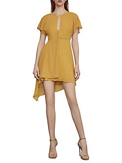 46dcf77f9b3 Product image. QUICK VIEW. BCBGMAXAZRIA. Twist Front Asymmetrical Dress