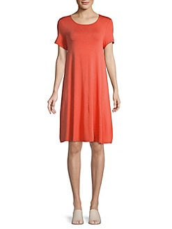 74b84cf56decc Product image. QUICK VIEW. Lord   Taylor. Petite Short Sleeve Swing Dress