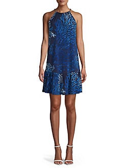 77a14c05205 QUICK VIEW. MICHAEL Michael Kors. Petite Tahitian Reef Print Shift Dress
