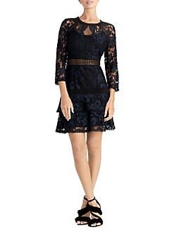 6f03e0120a03 QUICK VIEW. RACHEL Rachel Roy. Portia Lace Fit- -Flare Dress