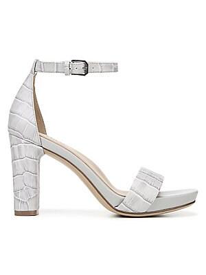 2cdc1c2775 Naturalizer - Joy Leather Heeled Ankle-Strap Sandals - lordandtaylor.com